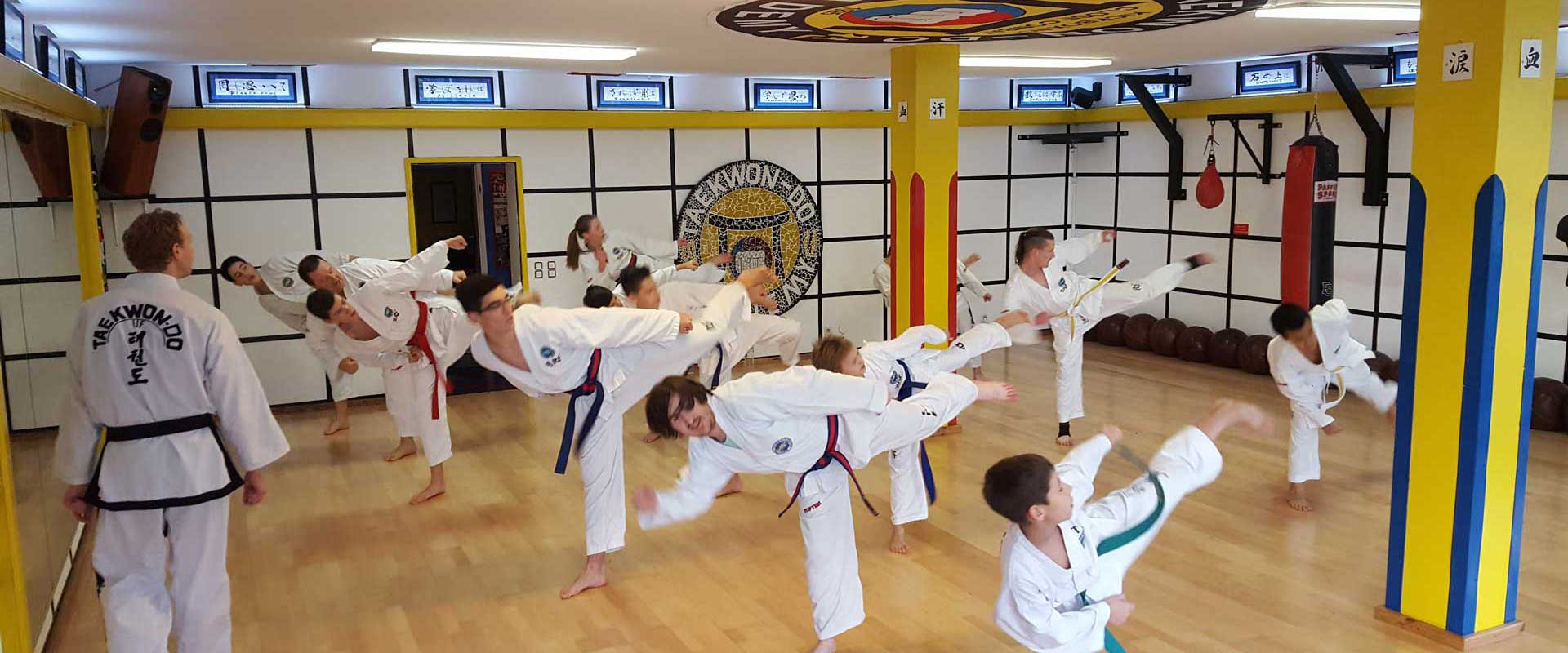 Taekwon-Do Training in der Taekwon-Do Academy